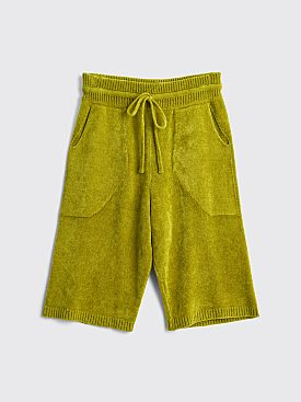 Judy Turner Tina Velvet Board Shorts Green Tea