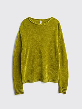 Judy Turner Jelle Velvet Roll Neck Green Tea