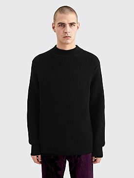 Judy Turner Richard Mock Neck Sweater Black