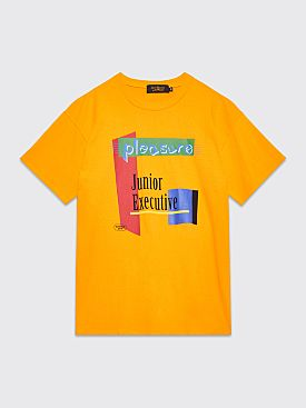 Junior Executive With Pleasure Melodies T-shirt Yellow