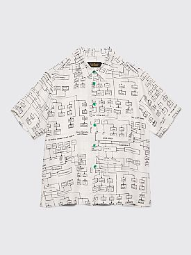 Junior Executive With Pleasure Schematics Shirt White