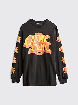 Junior Executive x DB Cosmic Sound LS T-shirt Black