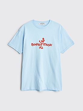 Junior Executive Body Music T-shirt Light Blue