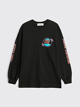 Junior Executive Hard-Core Long Sleeve T-shirt Black