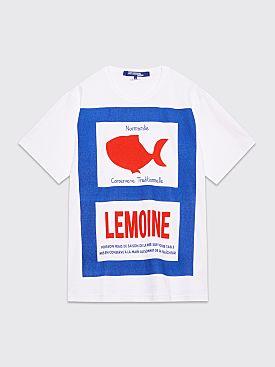Junya Watanabe MAN Lemoine T-shirt White