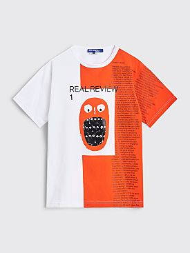 Junya Watanabe MAN Real Print T-shirts 2 Pack White