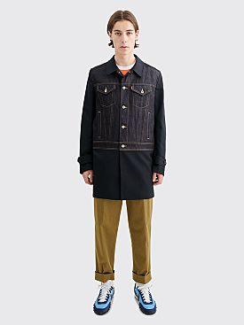 Junya Watanabe MAN x Levis Coat Indigo