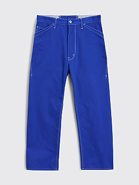 Junya Watanabe MAN Canvas Work Pants Blue