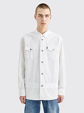 Junya Watanabe MAN x Levis Shirt White