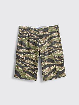Junya Watanabe MAN Cargo Shorts Camo Khaki