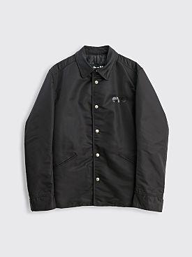 Junya Watanabe MAN x Schott Nylon Jacket Black