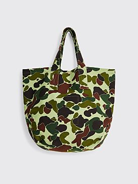 Junya Watanabe MAN x Le Laboureur Tote Bag Green / Brown