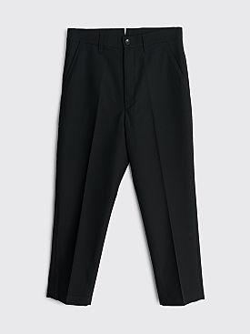 Junya Watanabe MAN Wool Gabardine Pants Black