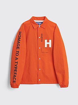 Junya Watanabe MAN Reversible Helvetica Jacket Orange