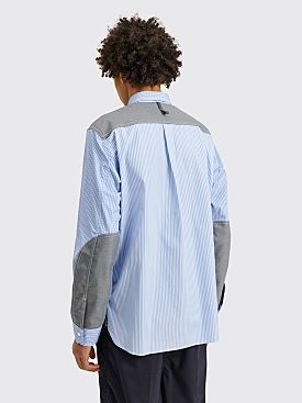 Junya Watanabe MAN Pocket Shirt Sax / Grey