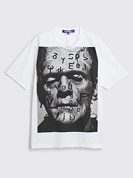 Junya Watanabe MAN Typography T-shirt White