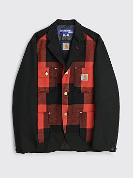 Junya Watanabe MAN x Carhartt Plaid Jacket Black / Red