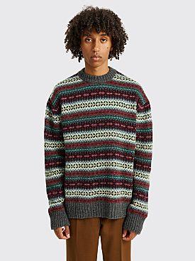 Junya Watanabe MAN Knitted Sweater Multi Color Stripe