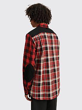 Junya Watanabe MAN Plaid Shirt Black / Red