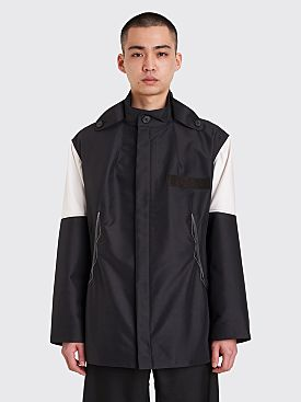 Kiko Kostadinov Kutch Parka Chrome Black