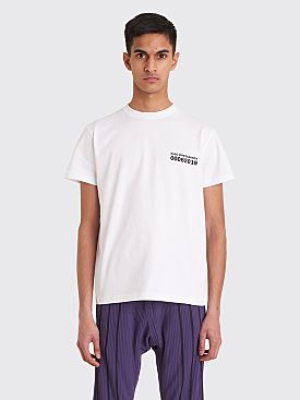 Kiko Kostadinov 0006 Graphic T-shirt White