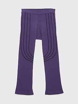 Kiko Kostadinov River Pants Plum Purple