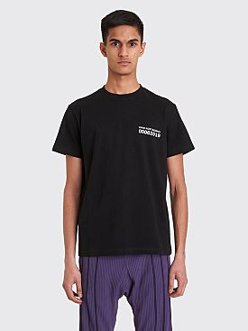 Kiko Kostadinov 0006 Graphic T-shirt Black