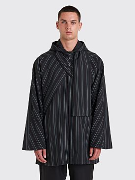 Kiko Kostadinov Scarf Parka Midnight Stripes