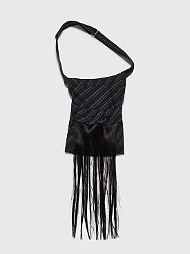 Kiko Kostadinov Doris Bag Midnight Stripes