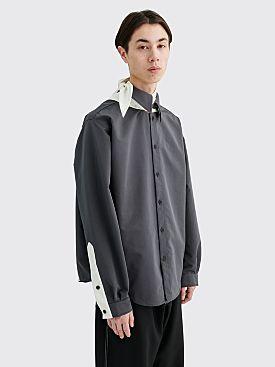 Kiko Kostadinov Meriwether Shirt Grey / White