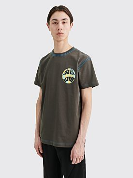 Kiko Kostadinov Tulcea Graphic T-shirt Mud