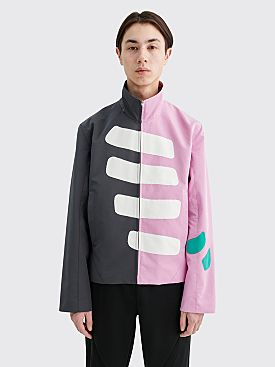 Kiko Kostadinov Espinoza Racing Jacket Pink / Grey