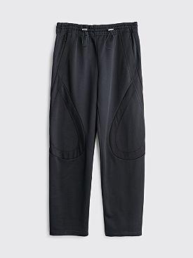 Kiko Kostadinov Lasso Knee Pants Oil Black