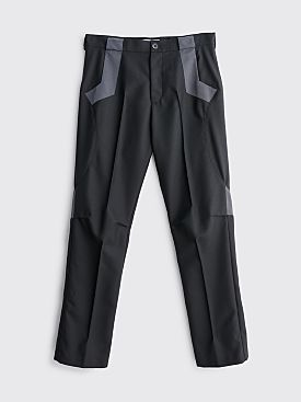 Kiko Kostadinov Tulcea Tailored Pants Graphite Black