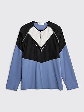 Kiko Kostadinov Kenneth Jersey Top LS Pacific Blue