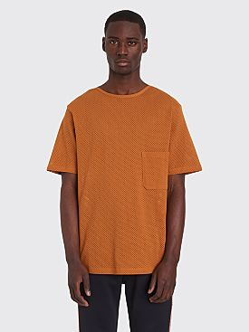 Lemaire x Sunspel Mesh T-shirt Orange