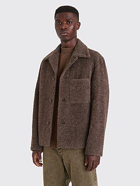 Lemaire Alpaca Soft Jacket Grey