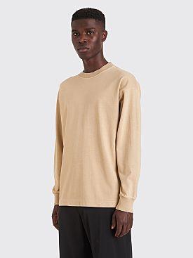 Lemaire Half Raglan Sweatshirt Light Taupe