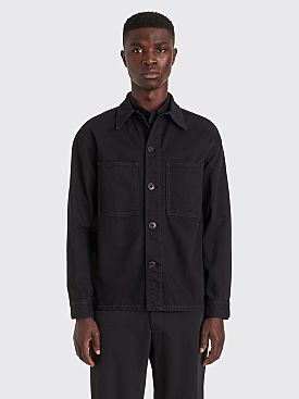Lemaire Denim Overshirt Black