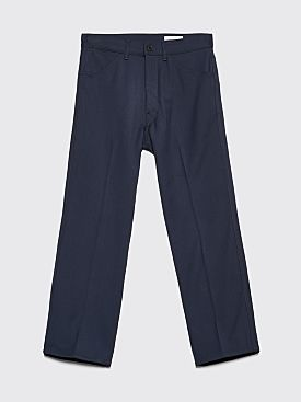 Lemaire Bootcut Pants Blueberry