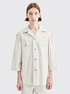 Lemaire Tropical Shirt Ice Grey