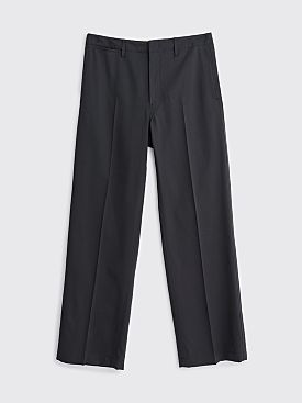 Lemaire Straight Leg Wool Chinos Caviar