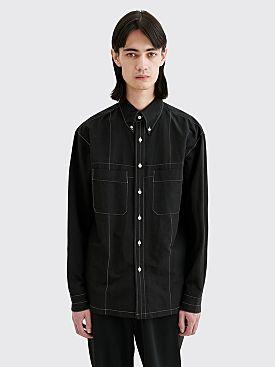 Lemaire Military Shirt Black