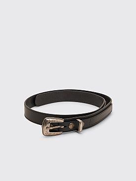 Lemaire Minimal Western Belt Black
