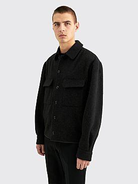 Lemaire Boxy Overshirt Black