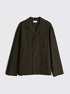 Lemaire Pyjama Shirt Midnight Green