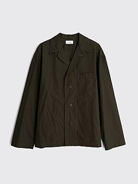 Lemaire Pyjama Shirt Midnight Green