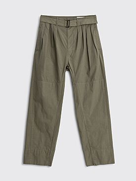 Lemaire Pleats Pants Dark Ash Grey