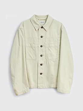 Lemaire Denim Workwear Overshirt Dusty Ivory