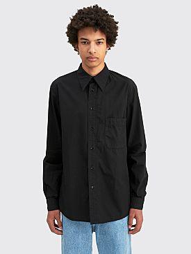 Lemaire Regular Shirt Black